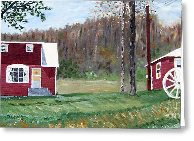Kevin Croitz Greeting Cards - Pop and Nanas House Catskills New York Greeting Card by Kevin Croitz