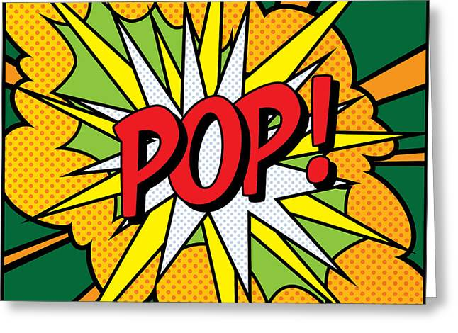 Modern Digital Art Digital Art Greeting Cards - POP Art 4 Greeting Card by Gary Grayson
