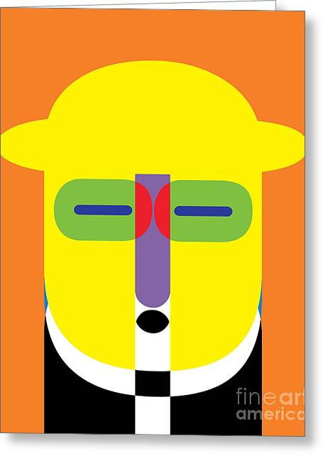 Pop Photographs Greeting Cards - Pop Art People 11 Greeting Card by Edward Fielding