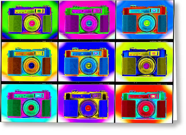 Rangefinder Greeting Cards - PoP aRt RoBiN pRoOfS Greeting Card by Mike McGlothlen