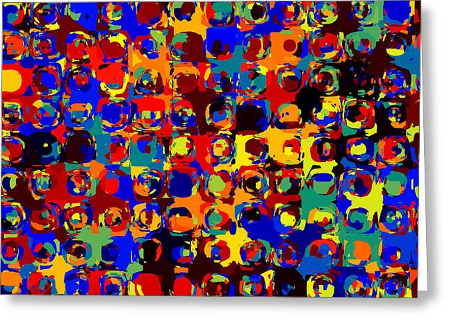 Pop Colors 14 Greeting Card by Craig Gordon