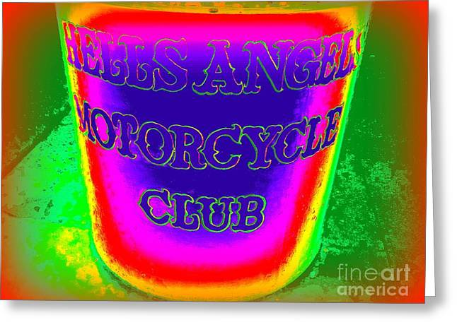Angel Blues Greeting Cards - Pop Planter Greeting Card by Ed Weidman