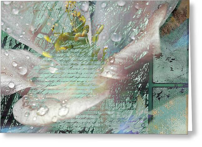 POP V Greeting Card by Yanni Theodorou