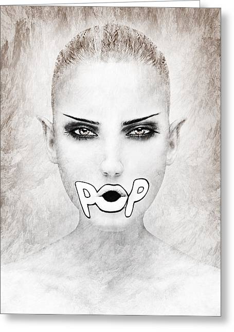 Human Being Greeting Cards - Pop Greeting Card by Yosi Cupano