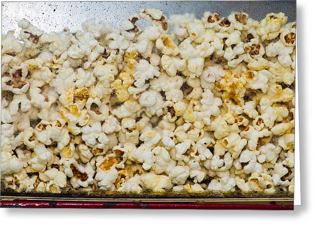 Sweat Greeting Cards - Popcorn 2 - Featured 3 Greeting Card by Alexander Senin
