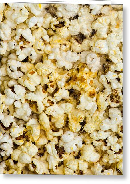 Corn Meal Greeting Cards - Popcorn - Featured 3 Greeting Card by Alexander Senin