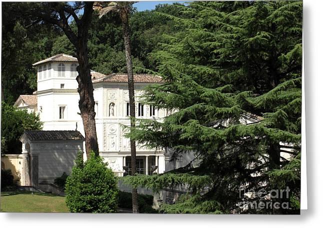 Borgia Greeting Cards - Popes Private Residence Greeting Card by Deborah Smolinske