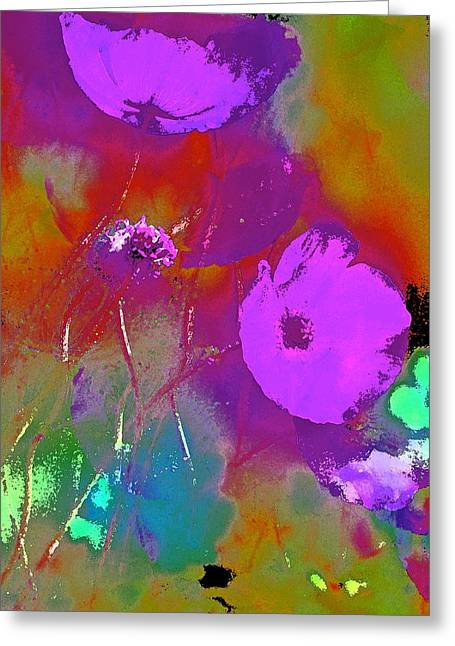 Pamela Cooper Greeting Cards - Poppy 32 Greeting Card by Pamela Cooper