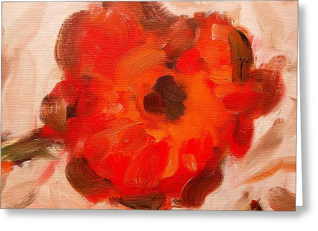 Tablets Greeting Cards - Poppy Greeting Card by Patrick J Murphy
