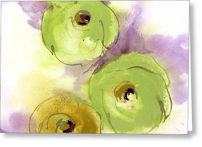 Decorate Greeting Cards - Poppy Puffs I Greeting Card by Chris Paschke