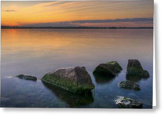 Hdr Landscape Greeting Cards - Porcelain Greeting Card by Ryan Heffron