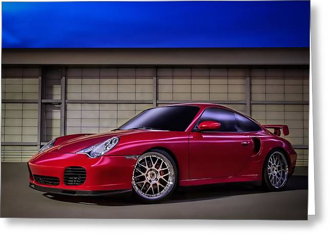 Twins Greeting Cards - Porsche 911 Twin Turbo Greeting Card by Douglas Pittman