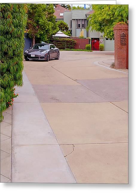 Bully Greeting Cards - Porsche- California Dream Greeting Card by See My  Photos