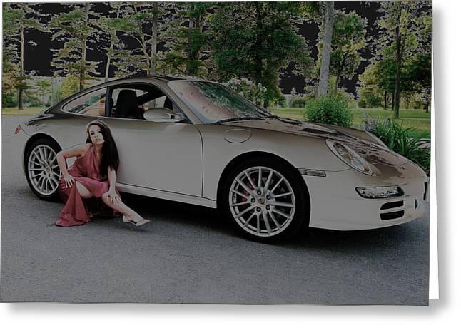 Paul Wash Greeting Cards - Porsche Chromatic Greeting Card by Paul Wash