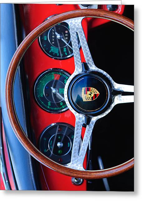 Custom Photographs Greeting Cards - Porsche Custom Iphone Case 2 Greeting Card by Jill Reger