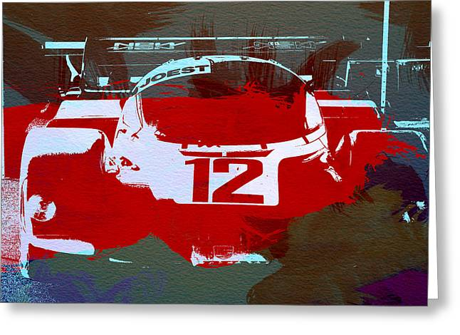 Concept Photographs Greeting Cards - Porsche Le Mans Greeting Card by Naxart Studio