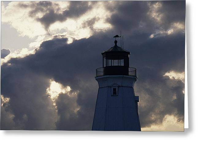 Best Sellers -  - Weathervane Greeting Cards - Port Dalhousie lighthouse Greeting Card by Jim  Wallace