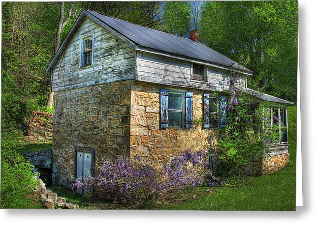 Stone House Digital Greeting Cards - Port Royal Country Greeting Card by Sharon Batdorf
