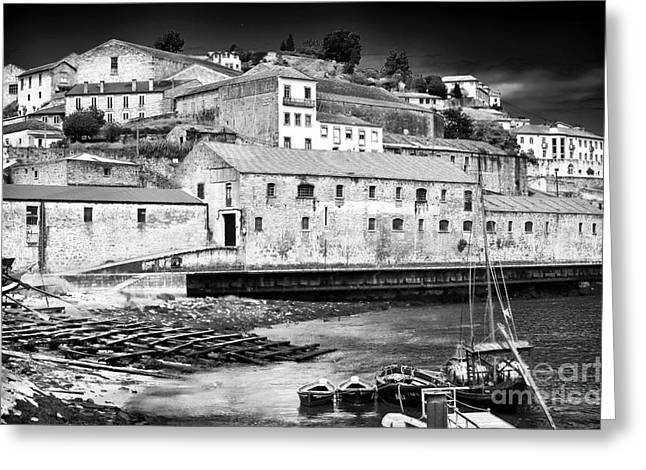 For Factory Greeting Cards - Port Wine Factories Greeting Card by John Rizzuto