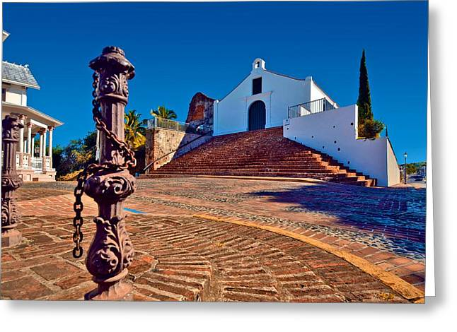 Porta Coeli Church Greeting Card by Ricardo J Ruiz de Porras
