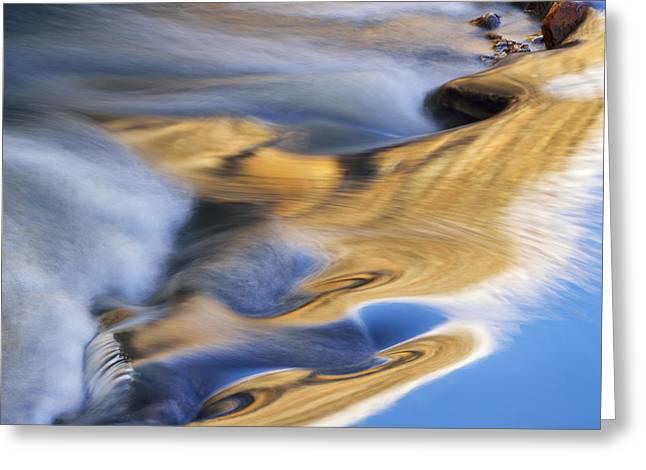 Beautiful Creek Greeting Cards - Portage Creek Greeting Card by Dean Pennala