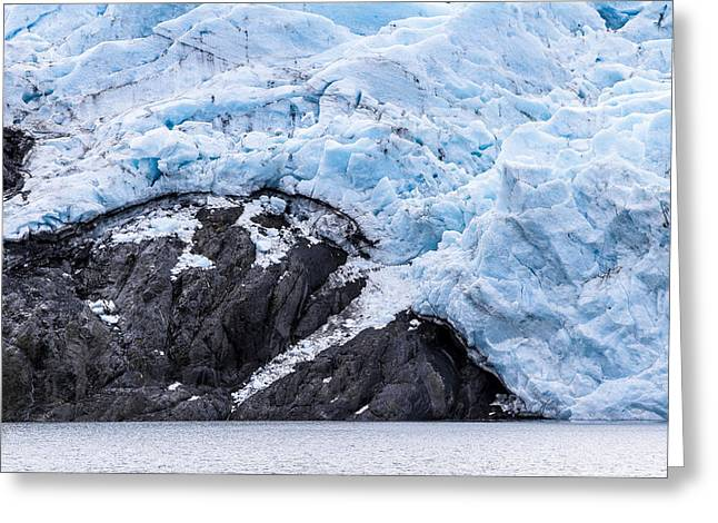 Portage Greeting Cards - Portage Glacier Rretreat Greeting Card by Kyle Lavey