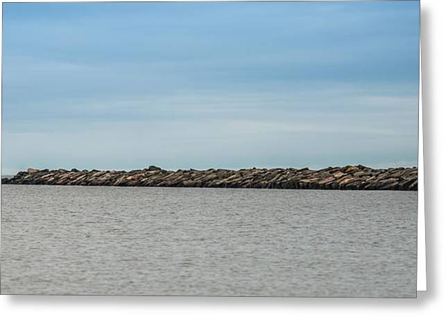 Portage Point Upper Entry Light Greeting Card by Paul Freidlund