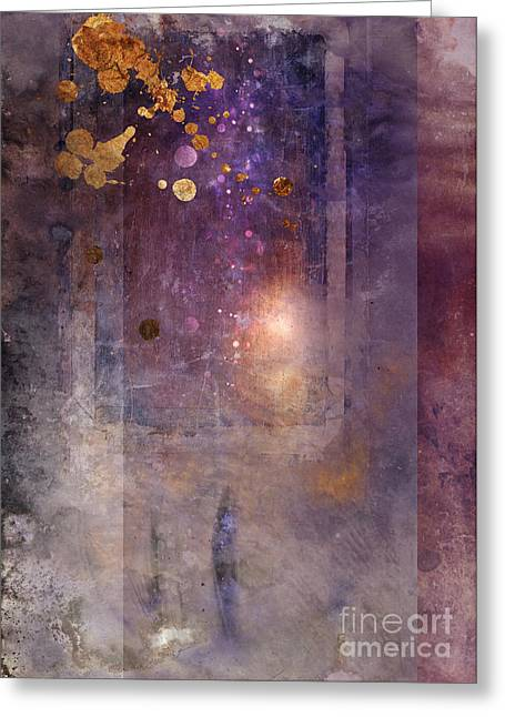 Abstractions Greeting Cards - Portal Greeting Card by Aimee Stewart