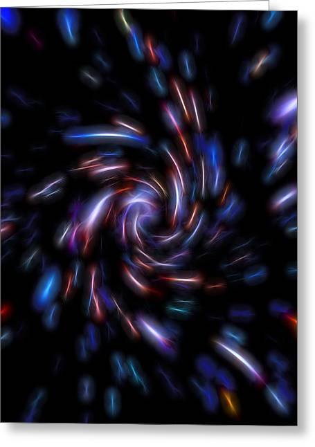 Interstellar Space Greeting Cards - Portal  Greeting Card by Dan Sproul