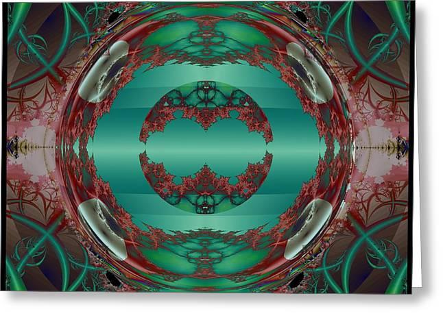 Portal / Escape Hatch  Greeting Card by Elizabeth McTaggart