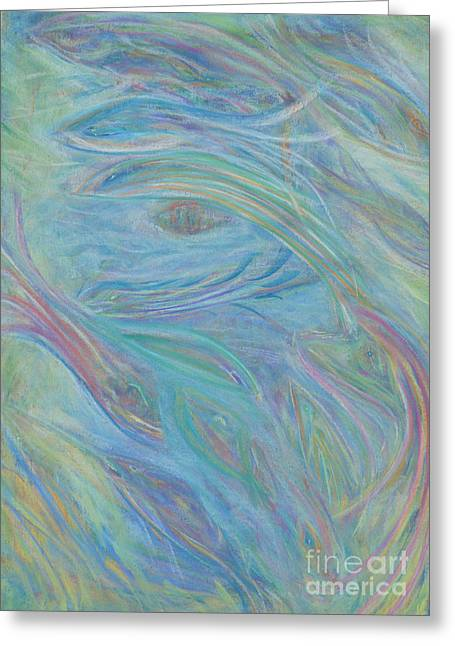 Diving Pastels Greeting Cards - Portal in Belize Reef Greeting Card by Milton Tarver