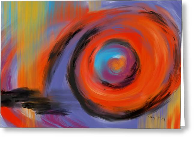 Southern Indiana Digital Art Greeting Cards - Portal of Optimistic Torment Greeting Card by Jaime Haney