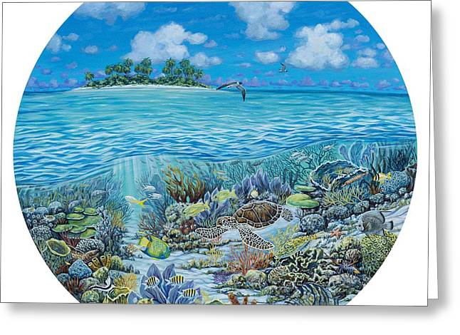 Private Island Greeting Cards - Portal To Paradise Greeting Card by Danielle  Perry