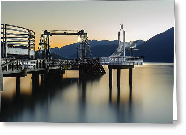 Wesley Allen Shaw Photography Greeting Cards - Porteau Cove Greeting Card by Wesley Allen Shaw