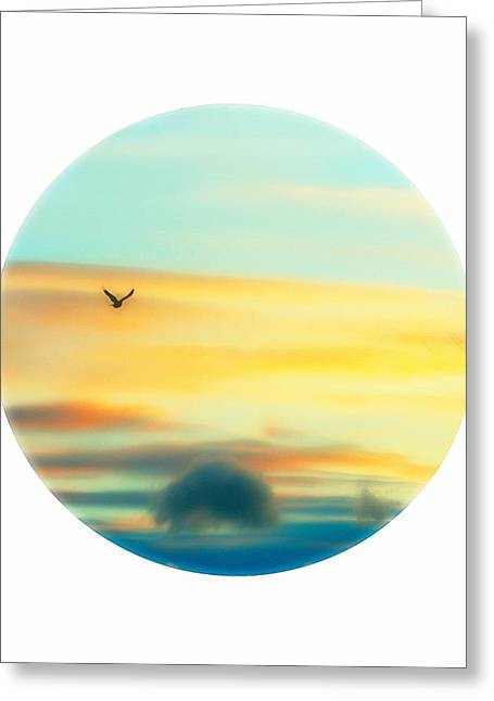 Ocean Theme Greeting Cards - Porthole View Greeting Card by Gothicolors Donna Snyder