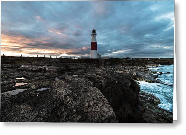 Purchase Art Greeting Cards - Portland Bill  Greeting Card by Ollie Taylor
