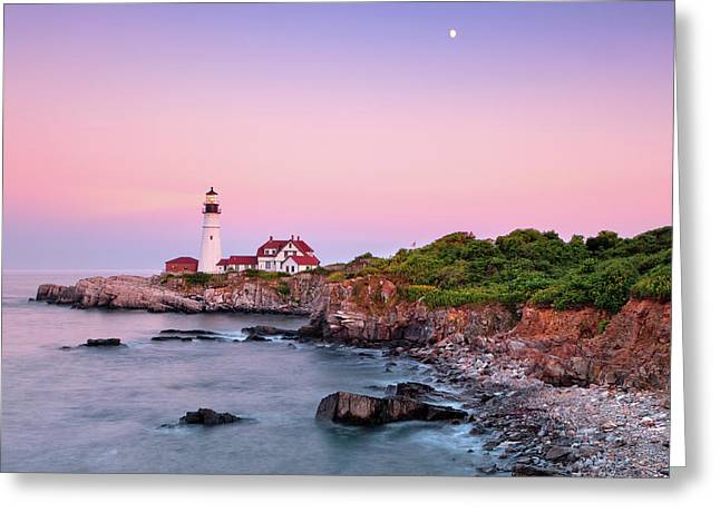 Portland Head Light Greeting Cards - Portland Head Light Greeting Card by Emmanuel Panagiotakis