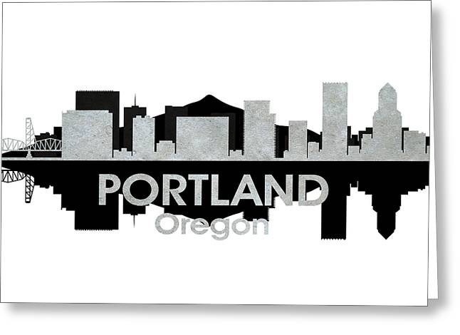 Industrial Icon Greeting Cards - Portland OR 4 Greeting Card by Angelina Vick