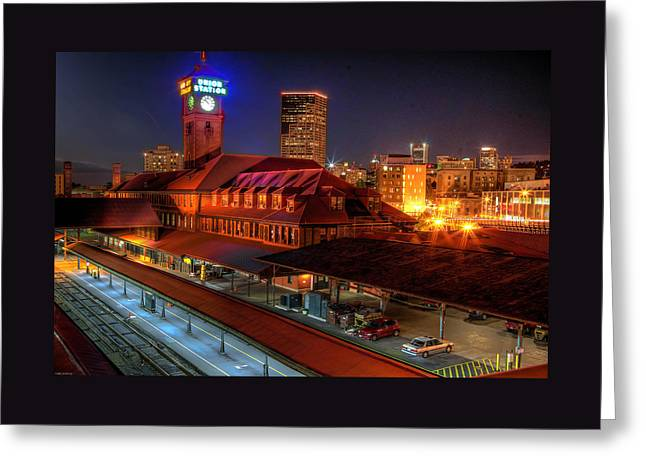 Photo Gallery Website Greeting Cards - Portland Union Railroad Station Greeting Card by Thom Zehrfeld