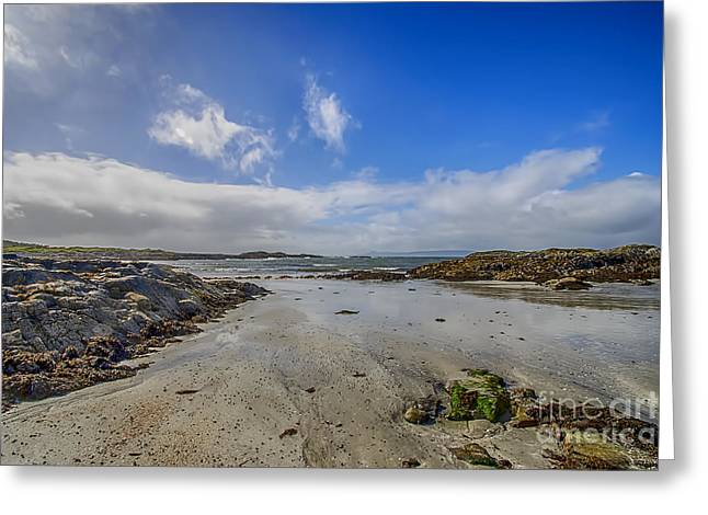 Highlands Of Scotland Greeting Cards - Portnadoran Beach Greeting Card by Chris Thaxter