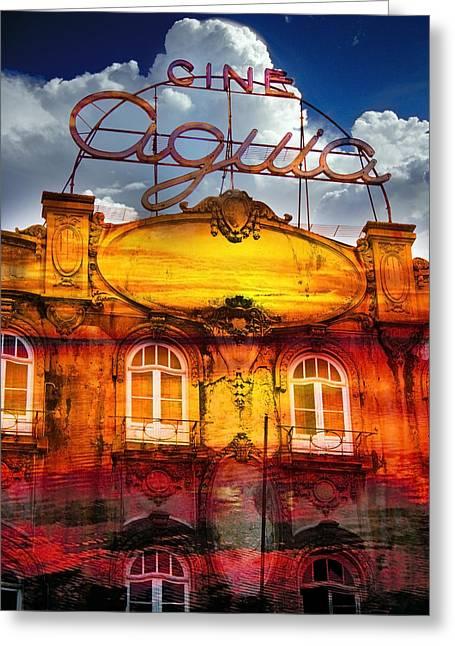 Composite Greeting Cards - Porto Cine Aquia Greeting Card by Skip Hunt