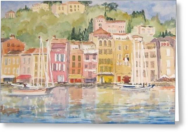 Portofino Italy Greeting Cards - Portofino Greeting Card by Brian Tucker
