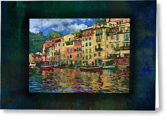 Portofino Italy Greeting Cards - Portofino Italy Greeting Card by Marty Malliton