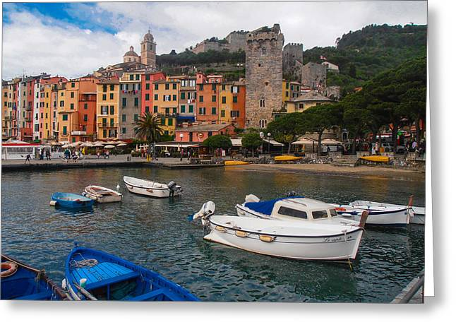 Portovenere Greeting Card by Dany Lison