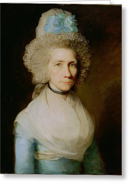 Wife Greeting Cards - Portrait Of Elizabeth Caldwell Greeting Card by Gilbert Stuart