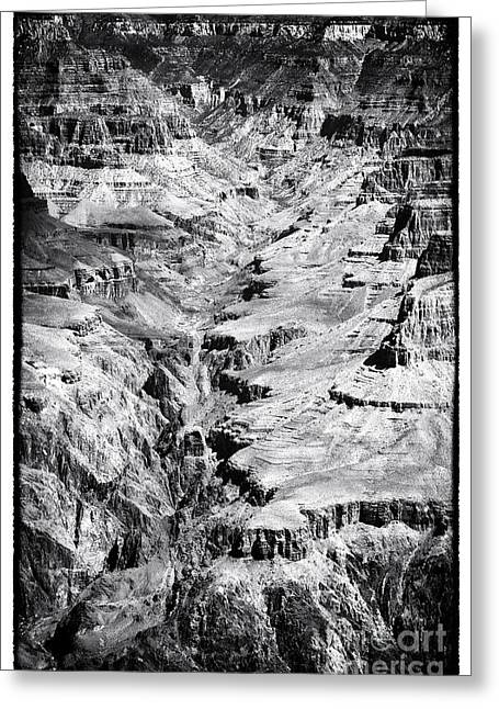 The Plateaus Greeting Cards - Portrait of Grand Canyon Greeting Card by John Rizzuto