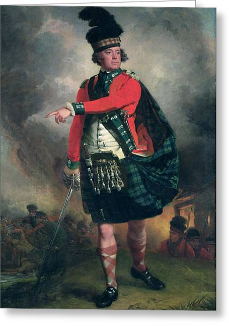 Ayrshire Greeting Cards - Portrait Of Hugh Montgomerie, 12th Earl Of Eglinton 1739-1819 C.1780 Oil On Canvas Greeting Card by John Singleton Copley