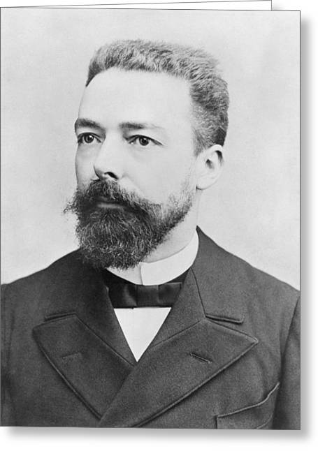 Minister Greeting Cards - Portrait Of Paul Doumer Photo Greeting Card by Andre Adolphe Eugene Disderi