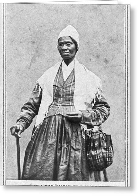 Human Rights Leader Greeting Cards - Portrait Of Sojourner Truth Greeting Card by Underwood Archives