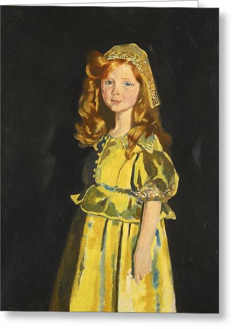Orpen Greeting Cards - Portrait Of Vivien St George Greeting Card by Sir William Orpen